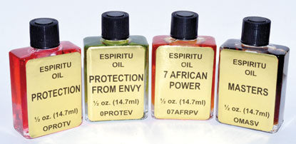 7 African Powers Oil 4 Dram