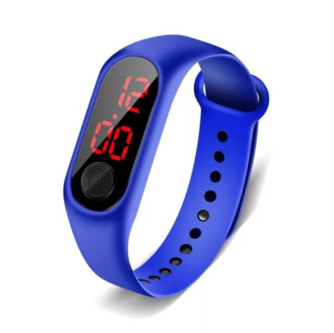 Stylish Silicone Digital Watch