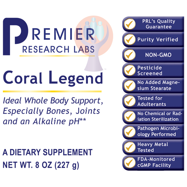 Coral Legend Powder-Supplement-PRL Labs-Raise the Bar Wellness