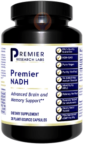NADH, Premier-Supplement-PRL Labs-Raise the Bar Wellness
