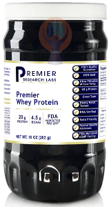 Whey Protein, Premier-Supplement-PRL Labs-Raise the Bar Wellness
