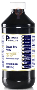 Liquid Zinc Assay-Supplement-PRL Labs-Raise the Bar Wellness