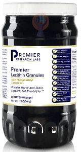 Lecithin Granules, Premier-Supplement-PRL Labs-Raise the Bar Wellness