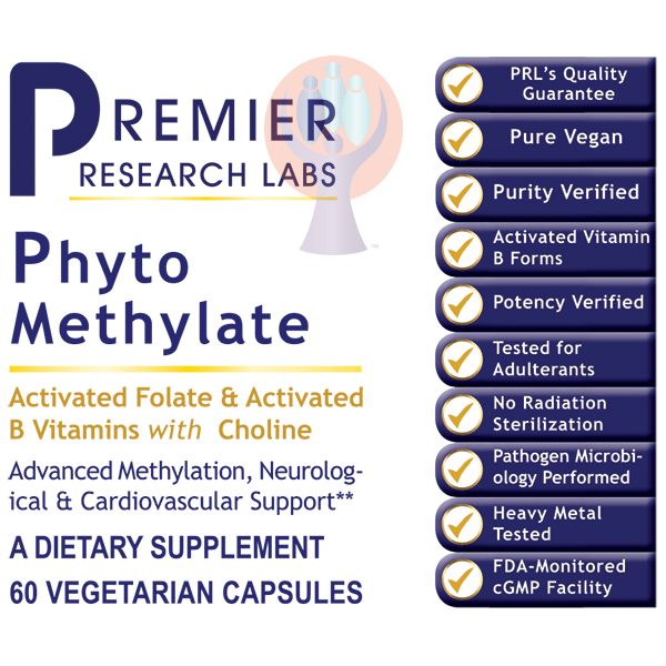 Phyto Methylate-Supplement-PRL Labs-Raise the Bar Wellness