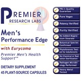 Men's Performance Edge-Supplement-PRL Labs-Raise the Bar Wellness