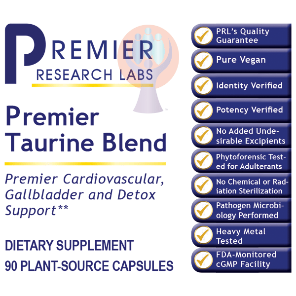 Taurine Blend, Premier-Supplement-PRL Labs-Raise the Bar Wellness