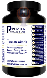 Tyrosine Matrix-Supplement-PRL Labs-Raise the Bar Wellness