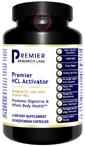 HCL Activator, Premier-Supplement-PRL Labs-Raise the Bar Wellness