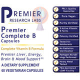 Complete B Capsules-Supplement-PRL Labs-Raise the Bar Wellness