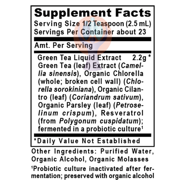 Green Tea-ND 2oz-Supplement-PRL Labs-Raise the Bar Wellness
