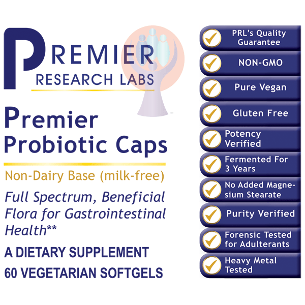 Probiotic Caps, Premier lg-Supplement-PRL Labs-Raise the Bar Wellness