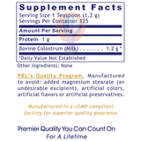 Colostrum Powder-Supplement-PRL Labs-Raise the Bar Wellness