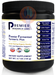 Fermented Turmeric, Premier-Supplement-PRL Labs-Raise the Bar Wellness