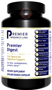 Digest, Premier-Supplement-PRL Labs-Raise the Bar Wellness