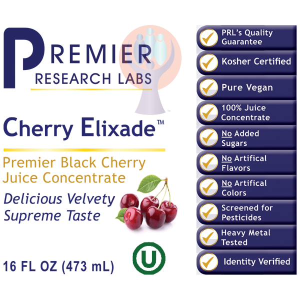 Cherry Elixade-Supplement-PRL Labs-Raise the Bar Wellness