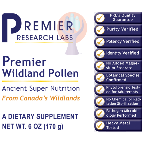 Wildland Pollen, Premier-Supplement-PRL Labs-Raise the Bar Wellness