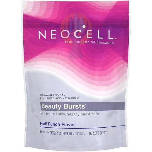 NeoCell Beauty Bursts Collagen Soft Chews - Raise the Bar Wellness