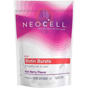 NeoCell Biotin Bursts Chews - Raise the Bar Wellness