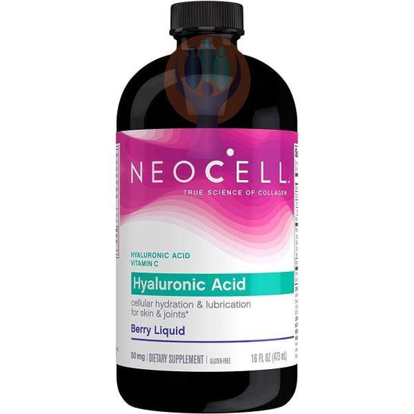 NeoCell Hyaluronic Acid Liquid with Vitamin C, Berry - Raise the Bar Wellness