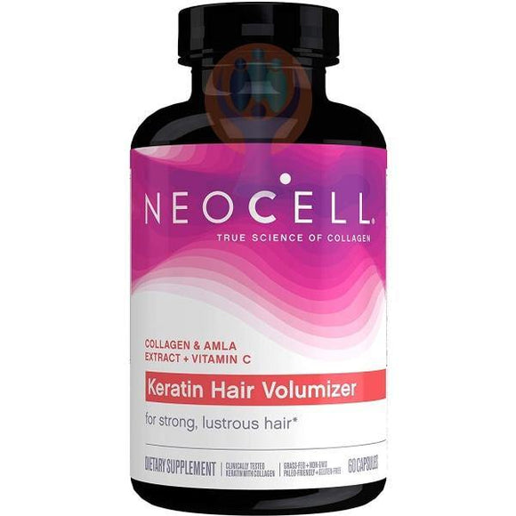 NeoCell Keratin Hair Volumizer Capsules - Raise the Bar Wellness