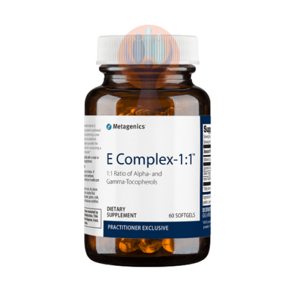 E Complex-1:1 60 Softgels - Raise the Bar Wellness