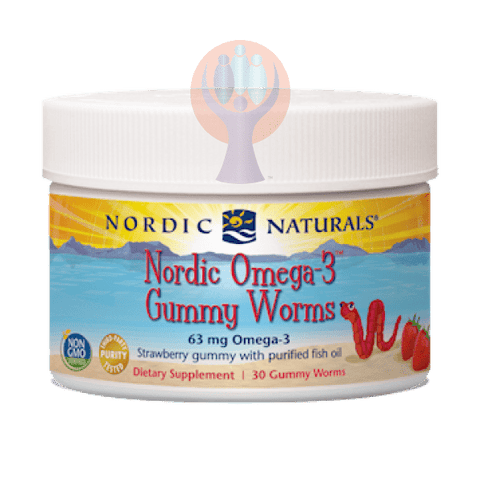 Omega-3 Gummy Worms Supplement