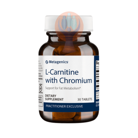 L-Carnitine with Chromium 30 Tablets