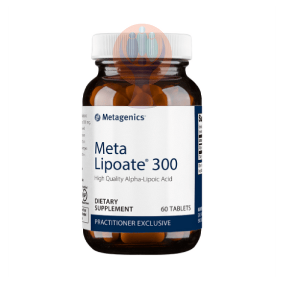 Meta Lipoate 300 60 Tablets - Raise the Bar Wellness