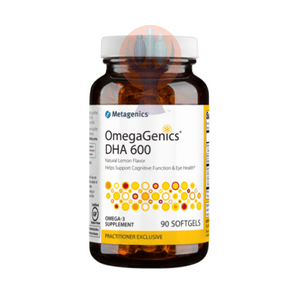 OmegaGenics DHA 600 90 Softgels - Raise the Bar Wellness