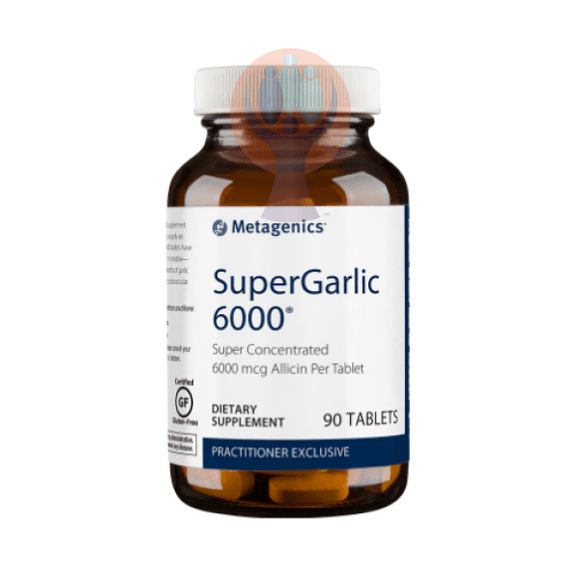 SuperGarlic 6000 90 Tablets - Raise the Bar Wellness