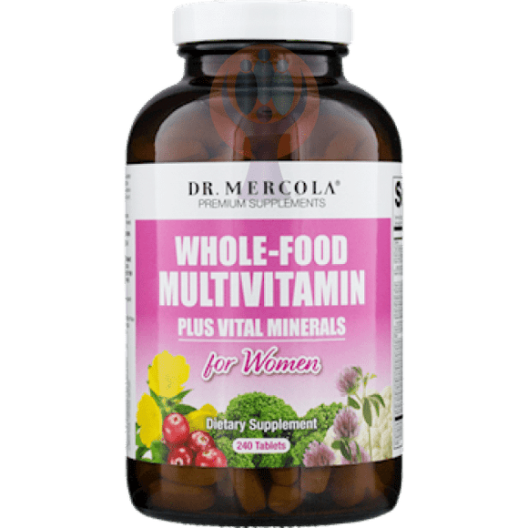 Whole-Food Multivitamin Plus Minerals Women - Raise the Bar Wellness