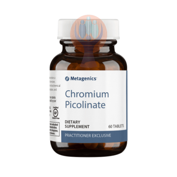 Chromium Picolinate 60 Tablets - Raise the Bar Wellness