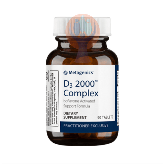 D3 2000 Complex 90 Tablets - Raise the Bar Wellness
