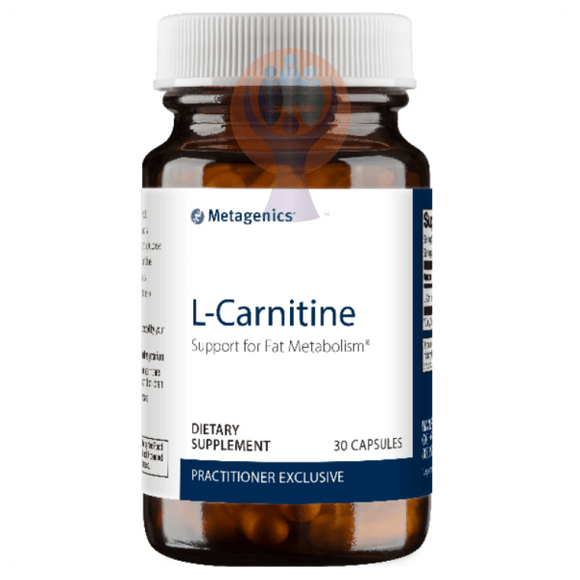 L-Carnitine 30 Capsules - Raise the Bar Wellness