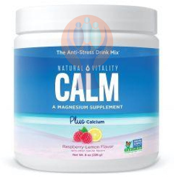 Natural Vitality CALM® Plus Calcium Raspberry Lemon