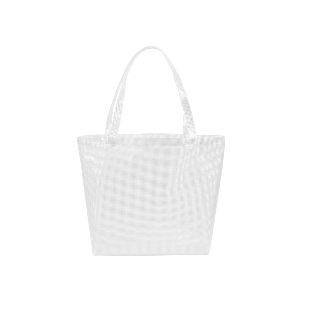 Daily Grind Super Size Tote - Grid Vinyl