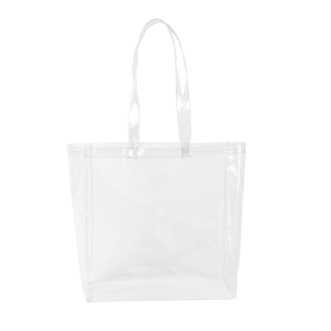 All That Grocery Tote - Clear Vinyl
