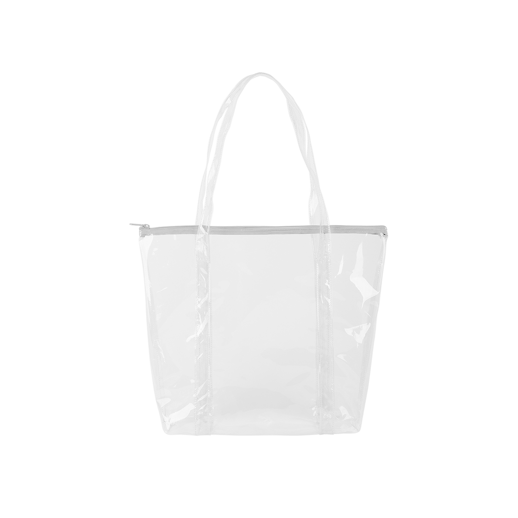 Twinkles Even More Tote - Clear Vinyl