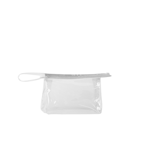 Jetsetter Small Pouch - Clear Vinyl
