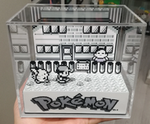 Load image into Gallery viewer, Pokemon Red/Blue Cubic Diorama