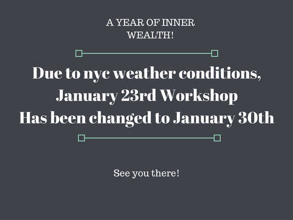 [Closed] A Year of Inner Wealth