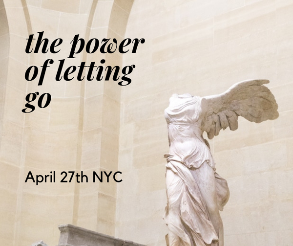 The Power of Letting Go – A Spiritual Workshop for Women