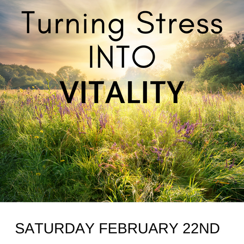 Turning Stress into Vitality!