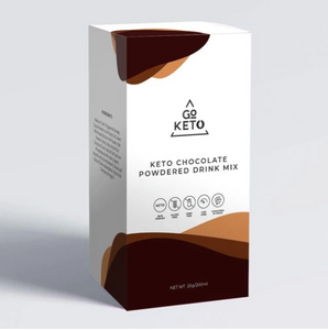 GOKETO HOT CHOCOLATE MIX DRINK WITH MCT