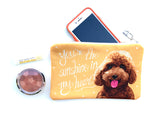 Goldendoodle Art Pouch- You're The Sunshine In My Heart
