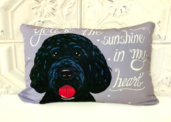 Portuguese Water Dog - You're The Sunshine In My Heart