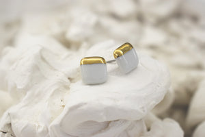Open image in slideshow, Porcelain earrings #101 + colors