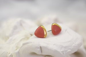 Open image in slideshow, Porcelain earrings #105 + colors