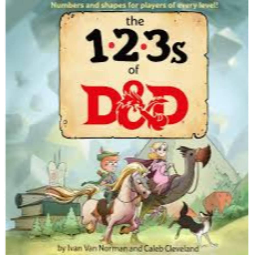 123s of D&D (Dungeons & Dragons Children's Book) (Hardcover) - The Haunted Game Cafe