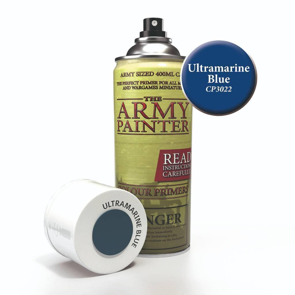 Army Painter Spray Paint Color Primer Ultramarine Blue